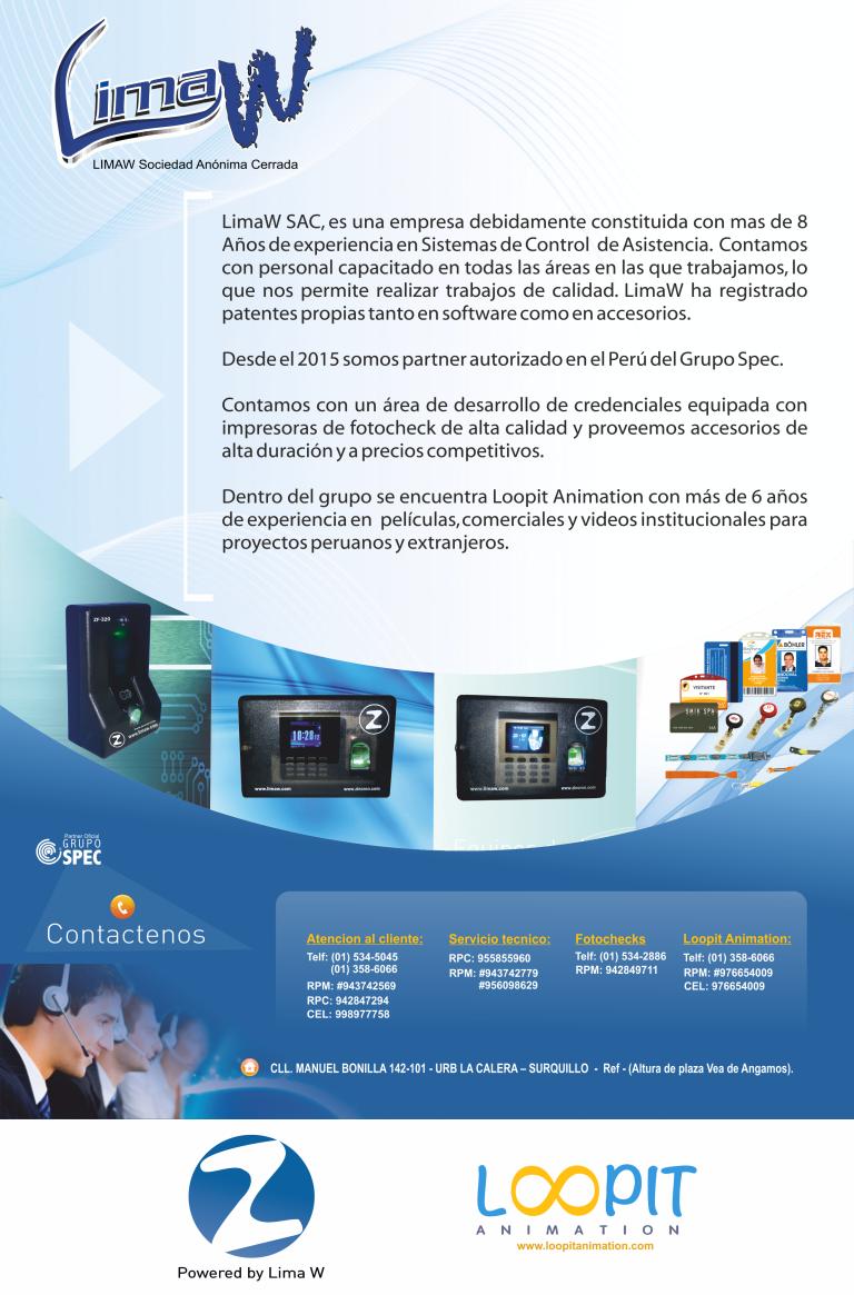 Limaw S.A.C. - Empresa